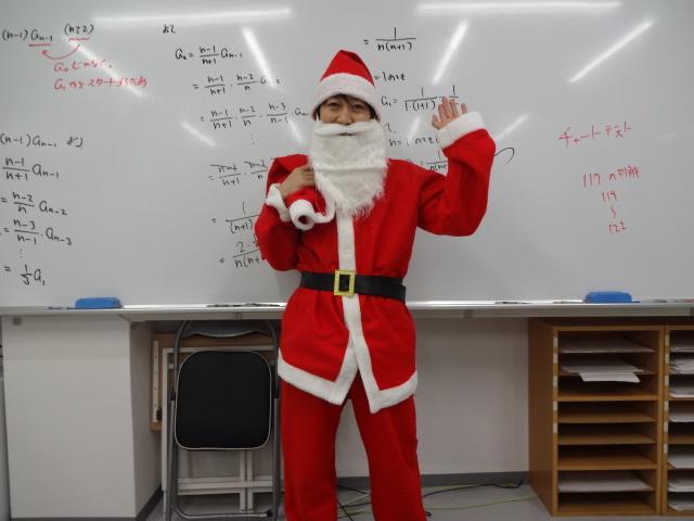 生徒たちへメリークリスマス