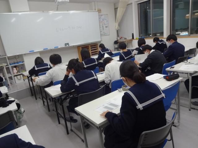 高3数学は今日から共通テスト対策開始!!!